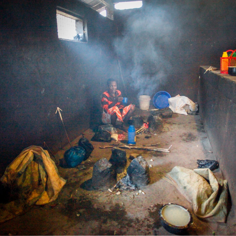 Spitalküche für die Zubereitung des Essens sind die  Angehörigen zuständig  (GH) 160915655